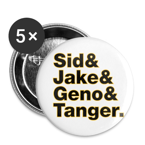 Helvetica& Hockey 2021 - Buttons small 1'' (5-pack)