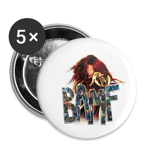 phoenix png - Buttons small 1'' (5-pack)