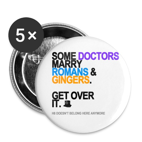 some doctors marry romansgingers lg tran - Buttons small 1'' (5-pack)