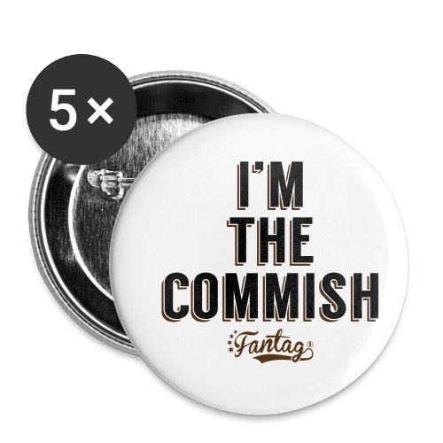 I'm the Commish: Coffee Mug - Buttons small 1'' (5-pack)