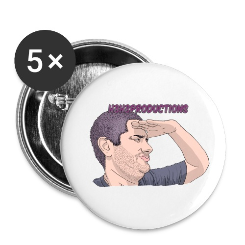 wow - Buttons small 1'' (5-pack)