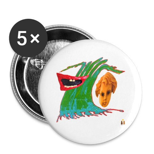 Wave of Fear - Buttons small 1'' (5-pack)