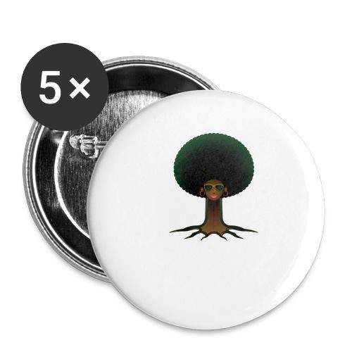 naijaroots - Buttons small 1'' (5-pack)