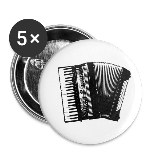 Accordian - Buttons small 1'' (5-pack)