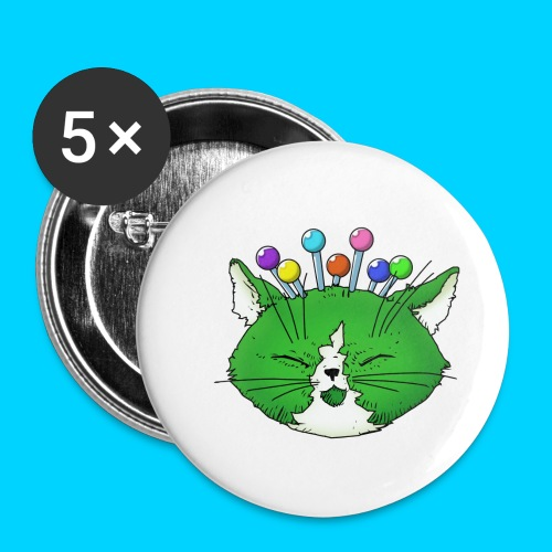 Fantastic Contraption III (no text) - Buttons small 1'' (5-pack)