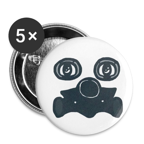 Toxic - Buttons small 1'' (5-pack)