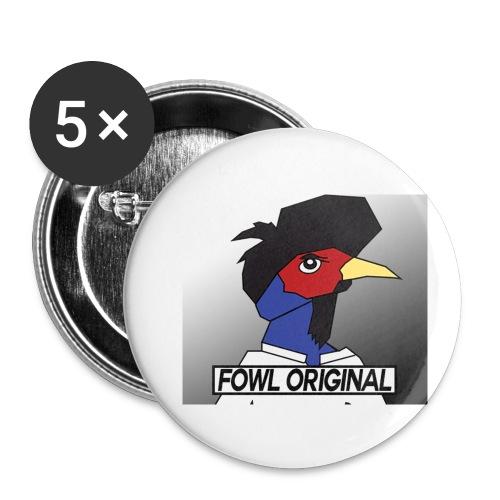 Fowl Original Logo - Small Buttons