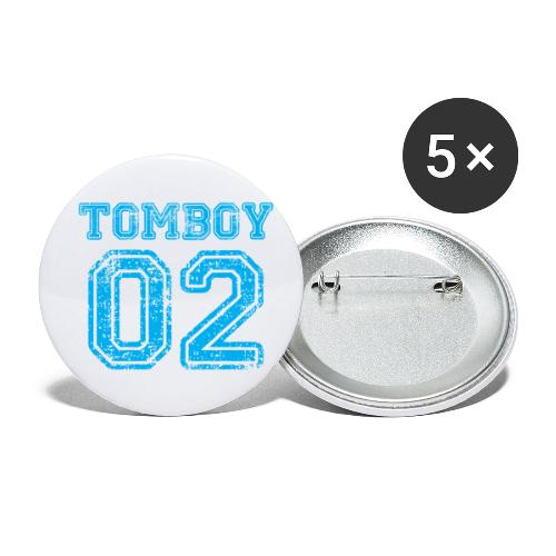 Tomboy02 png - Buttons small 1'' (5-pack)