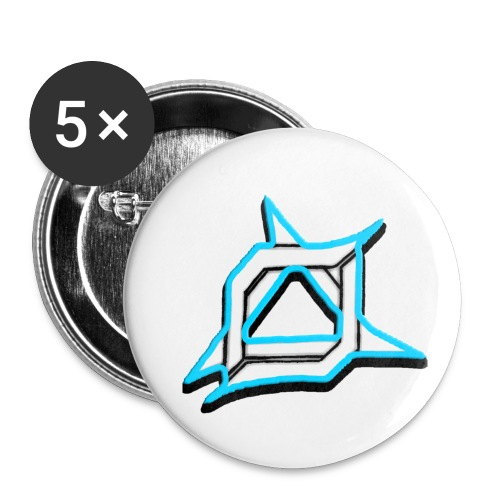 Oma Alliance Blue - Buttons small 1'' (5-pack)