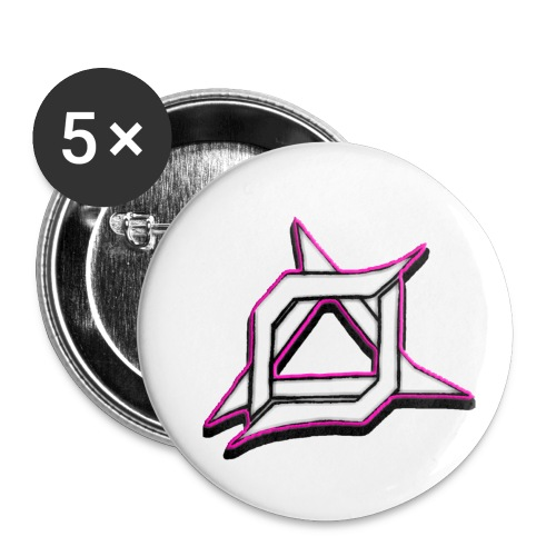 Oma Alliance Pink - Buttons small 1'' (5-pack)