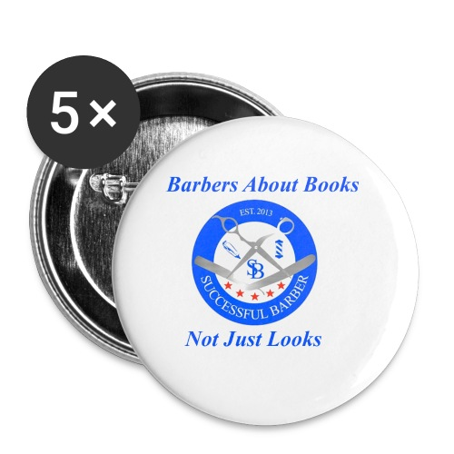 BarberShop Books - Small Buttons