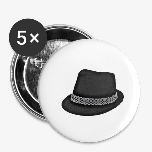 Bam FIlmz Logo - Buttons small 1'' (5-pack)