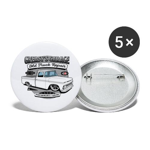 Greasy's Garage Old Truck Repair - Buttons small 1'' (5-pack)