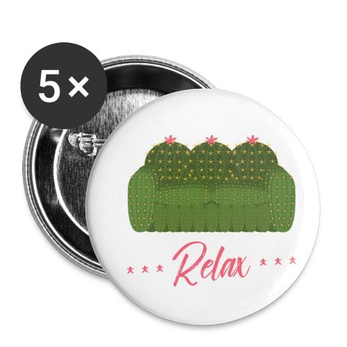 Relax! - Buttons small 1'' (5-pack)