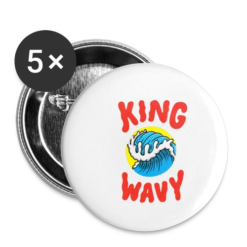 KYLE - King Wavy - Buttons small 1'' (5-pack)