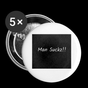 man suckz - Small Buttons