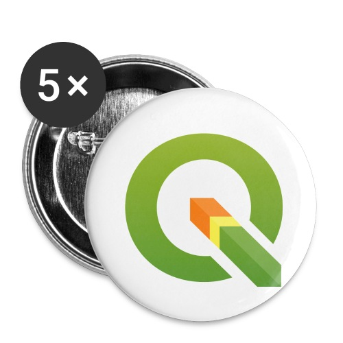 Q_600dpi_transp_bg - Buttons small 1'' (5-pack)