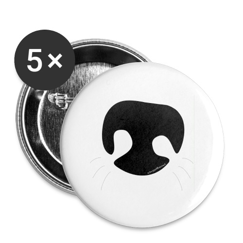 Dog Nose - Buttons small 1'' (5-pack)