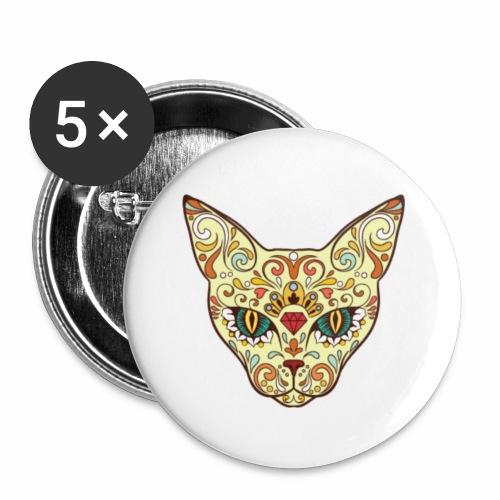 Kitty katt - Buttons small 1'' (5-pack)