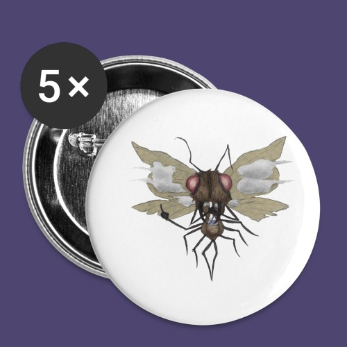 Toke Fly - Buttons small 1'' (5-pack)