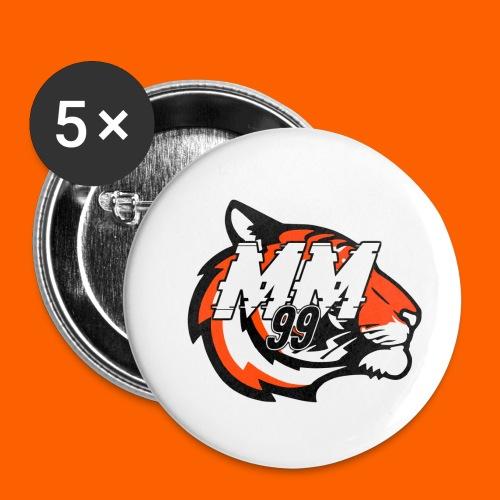the OG MM99 Unltd - Buttons small 1'' (5-pack)