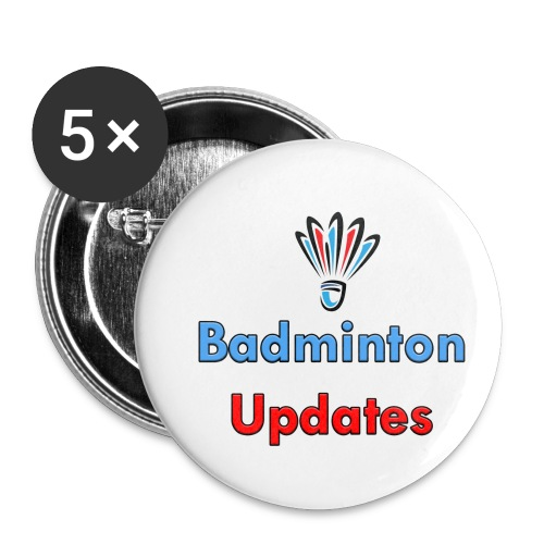Badminton Updates Logo - Small Buttons
