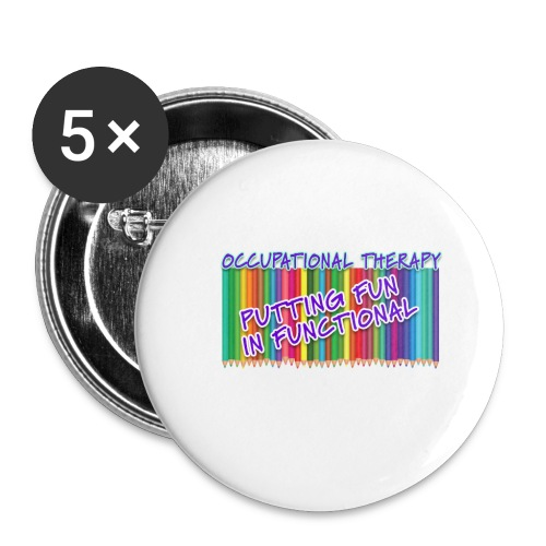 Occupational Therapy Putting the fun in functional - Buttons small 1'' (5-pack)