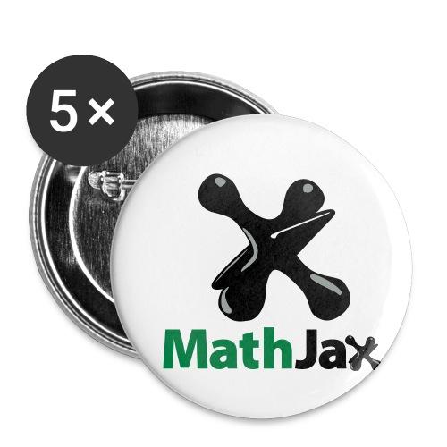 MathJax - Buttons small 1'' (5-pack)