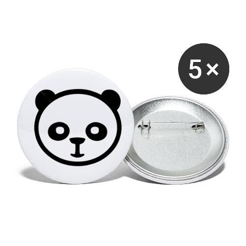 Panda bear, Big panda, Giant panda, Bamboo bear - Buttons small 1'' (5-pack)