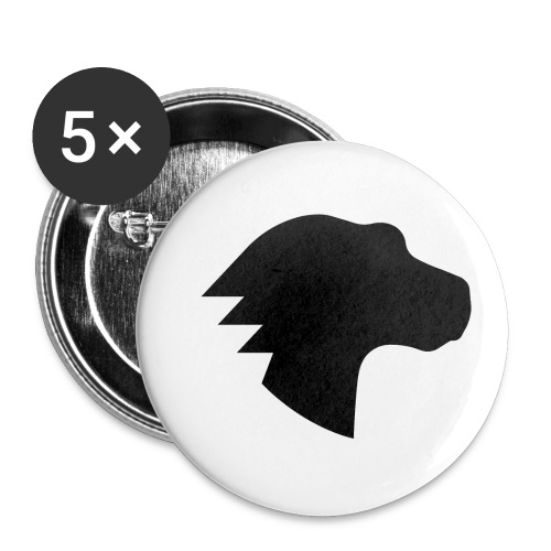Dino - Buttons small 1'' (5-pack)