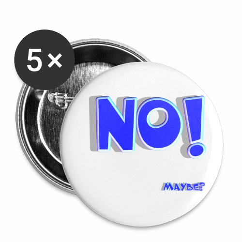 No Well Maybe - Buttons small 1'' (5-pack)