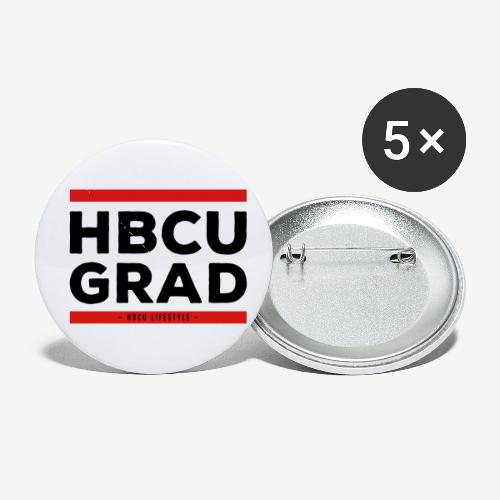 HBCU GRAD - Buttons small 1'' (5-pack)