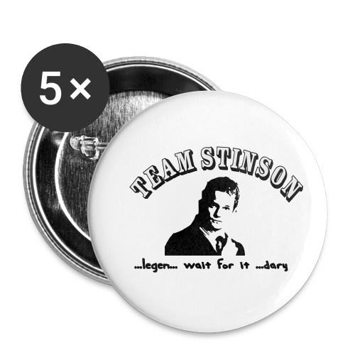 3134862_13873489_team_stinson_orig - Buttons small 1'' (5-pack)