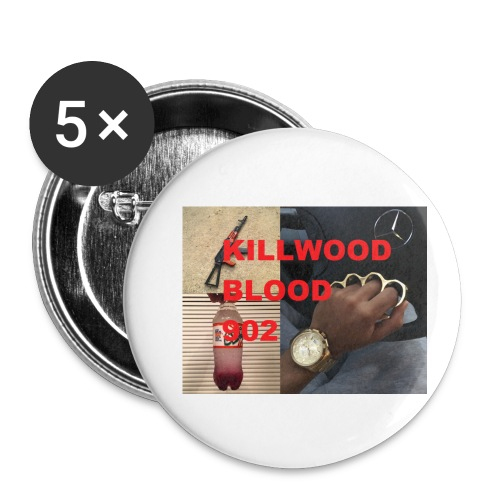 Killwood Blood 902 - Buttons small 1'' (5-pack)