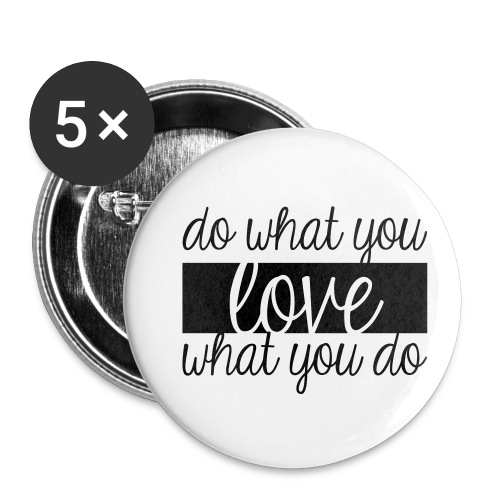 Love sense - Buttons small 1'' (5-pack)
