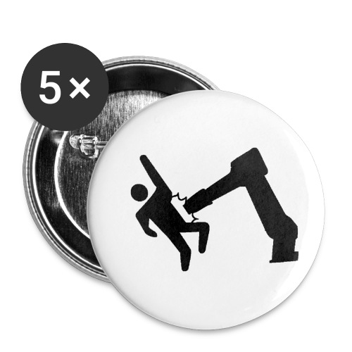 Robot Wins! - Buttons small 1'' (5-pack)