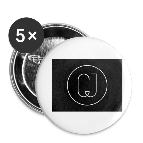 CJ - Buttons small 1'' (5-pack)