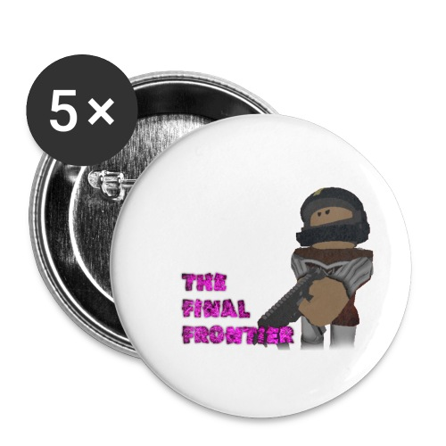 The Final Frontier Sports Items - Buttons small 1'' (5-pack)