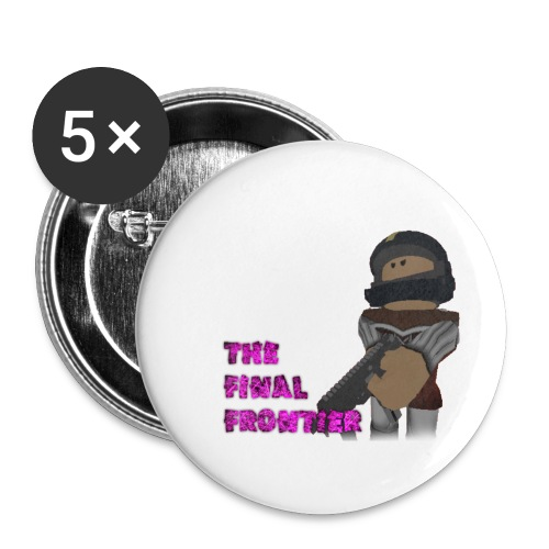 The Final Frontier - Buttons small 1'' (5-pack)