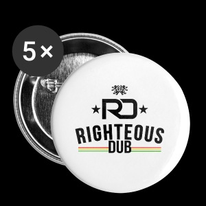 Righteous Dub Logo - Small Buttons