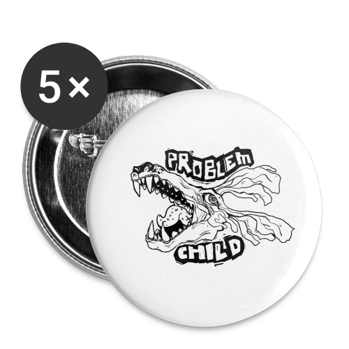 PROBLEM CHILD - Buttons small 1'' (5-pack)