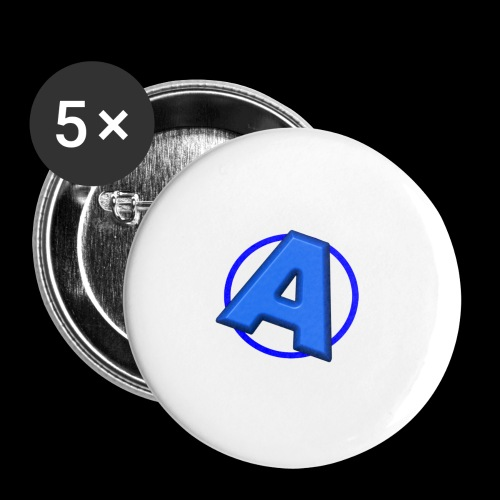 Awesomegamer Logo - Buttons small 1'' (5-pack)