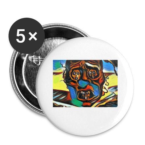 Dali Visage - Buttons small 1'' (5-pack)