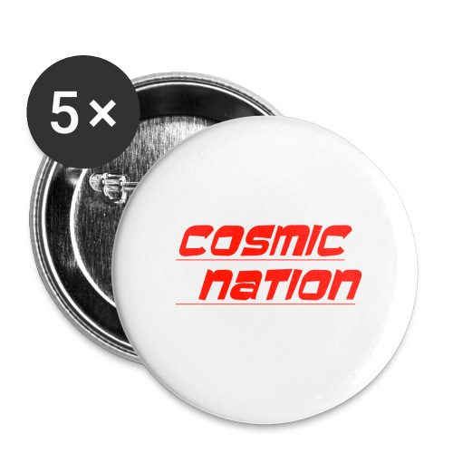 Cosmic Nation Logo - Buttons small 1'' (5-pack)