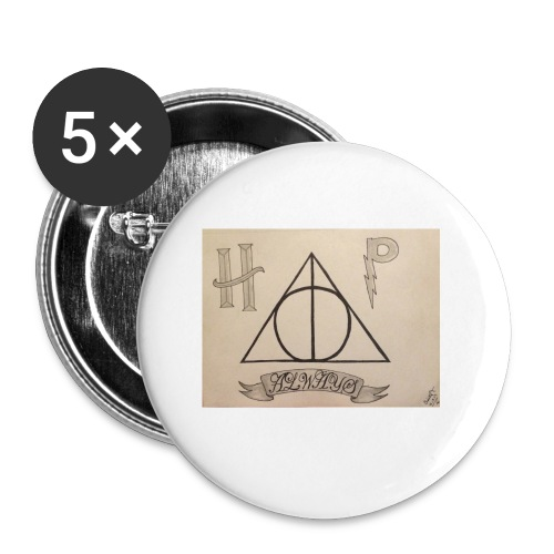 Deathly Hallows - Buttons small 1'' (5-pack)