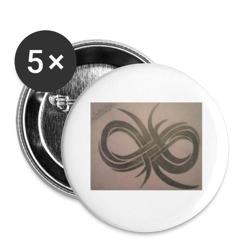 Infinity - Buttons small 1'' (5-pack)
