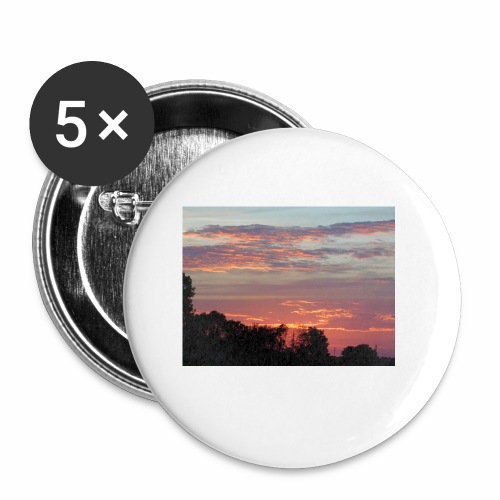 Sunset of Pastels - Buttons small 1'' (5-pack)