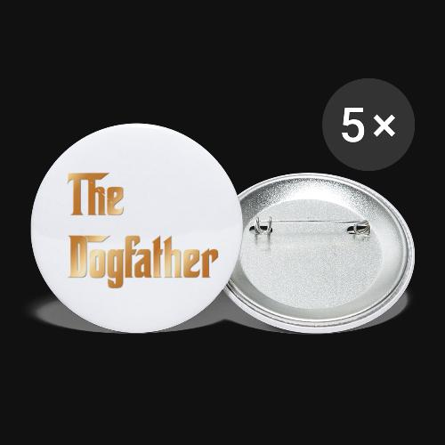 The DogFather colour - Buttons small 1'' (5-pack)
