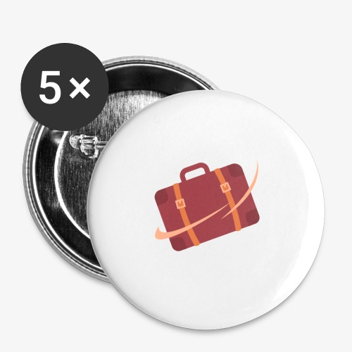 design - Buttons small 1'' (5-pack)