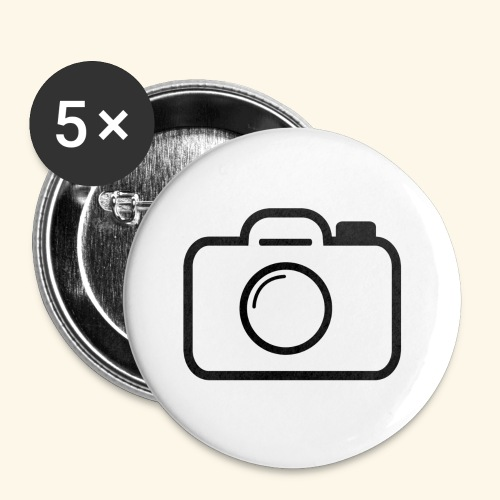 Camera - Buttons small 1'' (5-pack)
